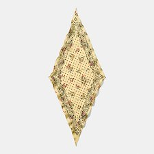 Picture of CROSS STITCH FLORAL BANDANA