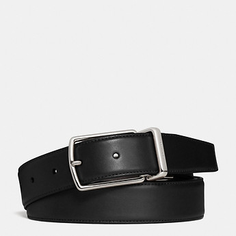 Image of Coach Australia  MODERN HARNESS CUT-TO-SIZE REVERSIBLE SMOOTH LEATHER BELT