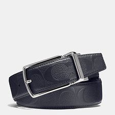 Picture of MODERN HARNESS CUT-TO-SIZE REVERSIBLE SIGNATURE CROSSGRAIN BELT