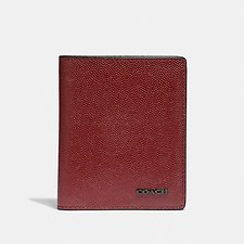 Image of Coach Australia RED CURRANT SLIM WALLET