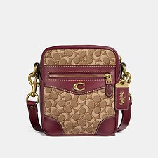 Image of Coach Australia  MAX CROSSBODY 18 IN SIGNATURE JACQUARD