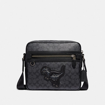 Image of Coach Australia  DYLAN 27 IN SIGNATURE CANVAS WITH REXY