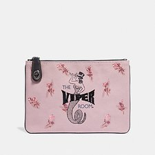 Image of Coach Australia V5/MAUVE VIPER ROOM TURNLOCK POUCH 26