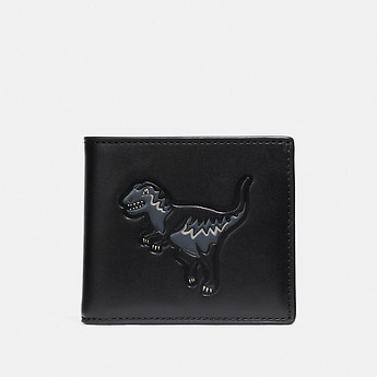 Image of Coach Australia  DOUBLE BILLFOLD WALLET WITH REXY