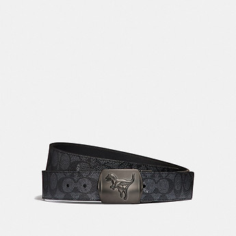 Image of Coach Australia  REXY SIGNATURE CUT-TO-SIZE REVERSIBLE BELT
