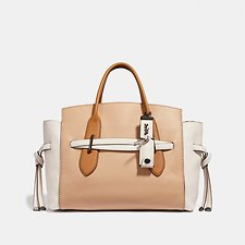 Image of Coach Australia B4/BEECHWOOD SHADOW CARRYALL IN COLORBLOCK