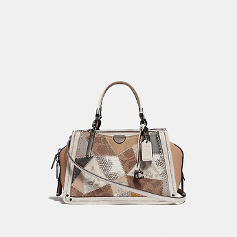 Image of Coach Australia  DREAMER 21 WITH SIGNATURE PATCHWORK