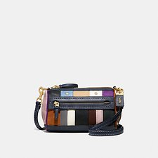 Image of Coach Australia B4/NAVY MULTI SHUFFLE 21 WITH MULTI STRIPE