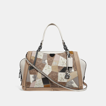 Image of Coach Australia  DREAMER 36 WITH SIGNATURE PATCHWORK