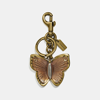 Image of Coach Australia  BUTTERFLY BAG CHARM