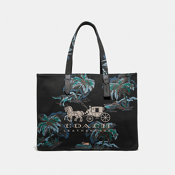 Image of Coach Australia  TOTE 42 WITH HORSE AND CARRIAGE