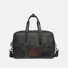 Image of Coach Australia JI/MILITARY WILD BEAST ACADEMY TRAVEL DUFFLE WITH WILD BEAST PRINT