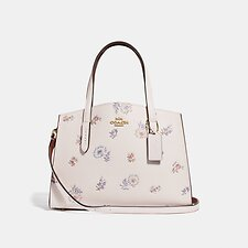 Image of Coach Australia GD/CHALK CHARLIE CARRYALL 28 WITH MEADOW PRAIRIE PRINT