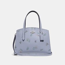Image of Coach Australia SV/MIST CHARLIE CARRYALL 28 WITH MEADOW PRAIRIE PRINT