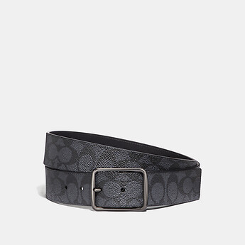 Image of Coach Australia  CUT-TO-SIZE REVERSIBLE BELT IN SIGNATURE CANVAS