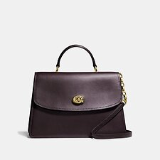 Image of Coach Australia B4/OXBLOOD PARKER TOP HANDLE 32
