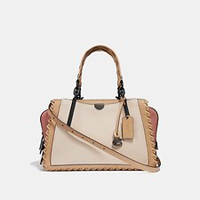 Image of Coach Australia V5/IVORY MULTI DREAMER IN COLORBLOCK WITH WHIPSTITCH