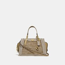 Image of Coach Australia B4/STRAW TAN MULTI DREAMER 21 IN COLORBLOCK