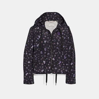 Image of Coach Australia  DISNEY X COACH PRINTED WINDBREAKER
