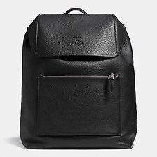 Picture of MANHATTAN BACKPACK IN PEBBLE LEATHER