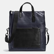 Picture of MANHATTAN FOLDOVER TOTE IN SPORT CALF LEATHER