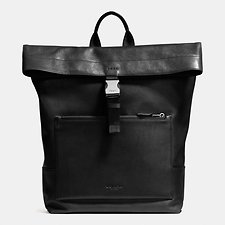 Picture of MANHATTAN FOLDOVER BACKPACK IN SPORT CALF LEATHER