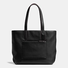 Picture of METROPOLITAN SOFT TOTE IN PEBBLE LEATHER