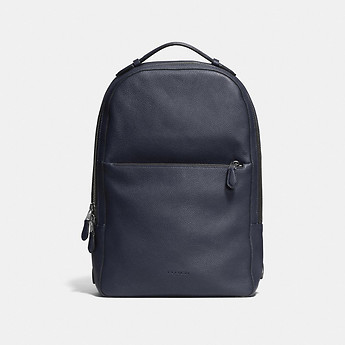 METROPOLITAN SOFT BACKPACK IN PEBBLE LEATHER - Coach Australia