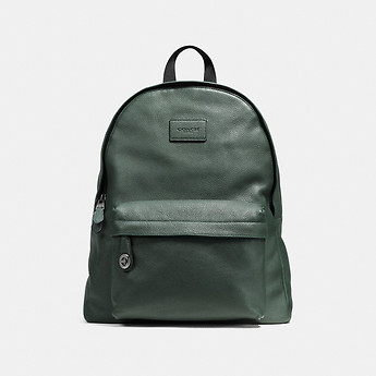 Image of Coach Australia  CAMPUS BACKPACK IN PEBBLE LEATHER