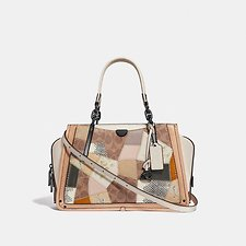 Image of Coach Australia V5/TAN BEECHWOOD MULTI DREAMER WITH SIGNATURE PATCHWORK