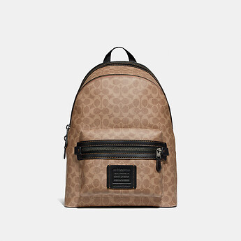 Image of Coach Australia  ACADEMY BACKPACK IN SIGNATURE CANVAS