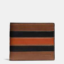 Picture of MODERN VARSITY STRIPE 3-IN-1 WALLET IN SMOOTH LEATHER