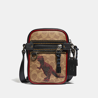 Image of Coach Australia  DYLAN 10 IN SIGNATURE COATED WITH REXY BY SUI JIANGUO