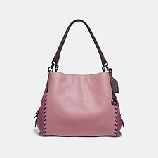 Image of Coach Australia V5/TRUE PINK MULTI DALTON 31 IN COLORBLOCK WITH WHIPSTITCH