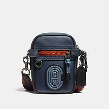 Image of Coach Australia JI/TRUE BLUE MULTI DYLAN 10 IN COLORBLOCK WITH COACH PATCH
