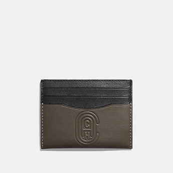 Image of Coach Australia  CARD CASE WITH COACH PATCH
