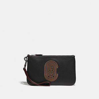 Image of Coach Australia  PHONE POUCH WITH COACH PATCH