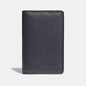 Image of Coach Australia  CARD WALLET WITH SIGNATURE CANVAS BLOCKING