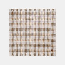 Image of Coach Australia CAMEL PLAID PRINT BLANKET SCARF