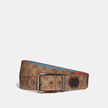 Image of Coach Australia  MODERN ACTIVE CUT-TO-SIZE REVERSIBLE BELT IN SIGNATURE CANVAS
