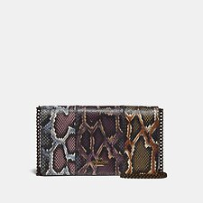 Image of Coach Australia V5/MULTICOLOR CALLIE IN COLORBLOCK SNAKESKIN