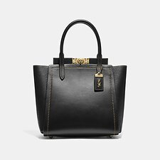 Image of Coach Australia B4/BLACK TROUPE TOTE