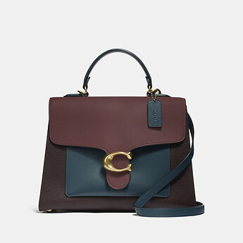 Image of Coach Australia  TABBY TOP HANDLE IN COLORBLOCK