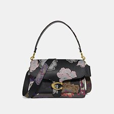 Image of Coach Australia B4/BLACK MULTI TABBY SHOULDER BAG WITH KAFFE FASSETT PRINT