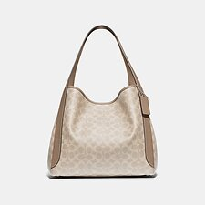 Image of Coach Australia LHPVT HADLEY HOBO IN SIGNATURE CANVAS