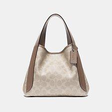 Image of Coach Australia LHPVT HADLEY HOBO 21 IN SIGNATURE CANVAS