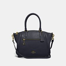 Image of Coach Australia GD/MIDNIGHT NAVY ELISE SATCHEL