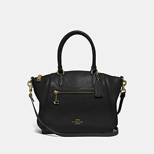 Image of Coach Australia GD/BLACK ELISE SATCHEL