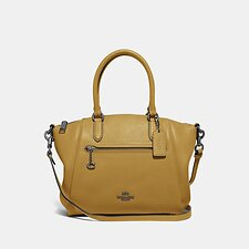 Image of Coach Australia GM/DARK MUSTARD ELISE SATCHEL