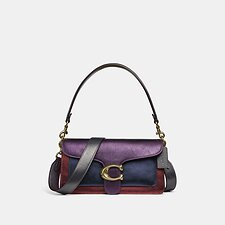 Image of Coach Australia B4/MULTI TABBY SHOULDER BAG 26 IN COLORBLOCK